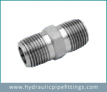 Exporter of hydraulic hex reducing nipple in china