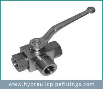 Hydraulic 3way ball valve Manufacturer